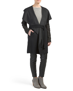 Jamie Double Face Wool Coat