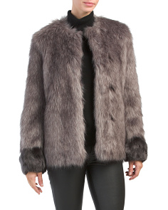 Scarlett Faux Fur Jacket