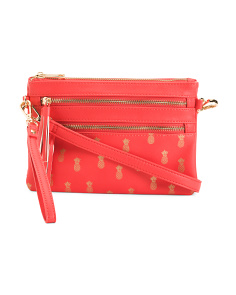 Pineapple Print Crossbody