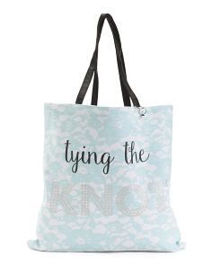 Reversible Tied The Knot Tote