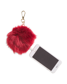 Charging Pom Pom With Chain Clip