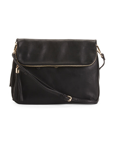 Selma Half Flap Large Crossbody