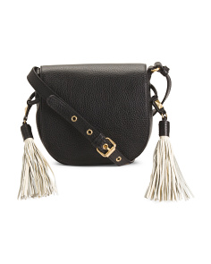 Bailey Leather Saddle Crossbody