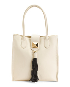 Leather Bailey Tote