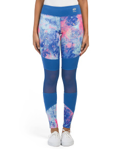 Abstract Printed Leggings