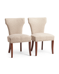 Set Of 2 Bicci Hexagon Chairs