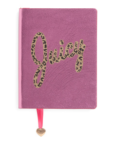 5x7 Faux Leather Cheetah Journal
