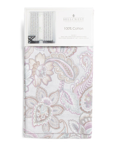 Set Of 2 Aubrey Floral Curtains