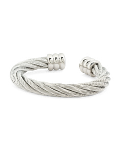 Stainless Steel Cable Celtic Bracelet