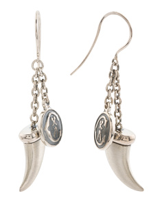 Kucha Horn Earrings