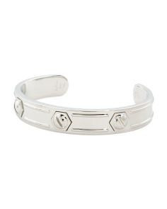 Rotonde Steel Bangle Bracelet