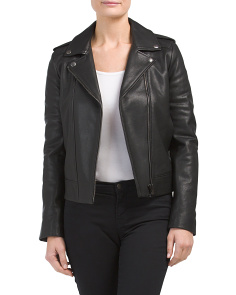 Perfecto Minimalist Leather Jacket