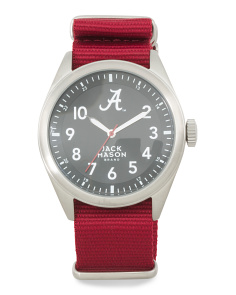 Men's Alabama Crimson Tide Nato Strap Watch