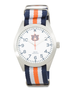 Men's Auburn Striped Nato Strap Watch