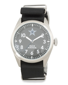 Men's Dallas Cowboys Nato Strap Watch