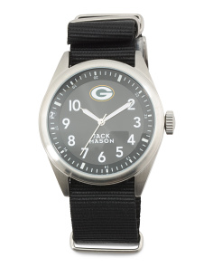 Men's Greenbay Packers Nato Strap Watch