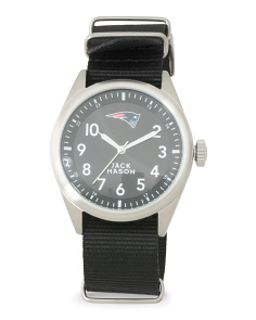 Men's New England Patriots Nato Strap Watch