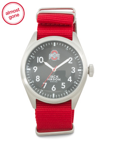 Men's Ohio State Buckeyes Nato Strap Watch