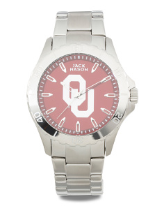 Men's Oklahoma Sooners Sport Bracelet Watch