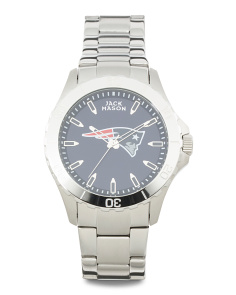 Men's New England Patriots Sport Bracelet Watch