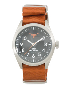 Men's Texas Longhorns Sport Bracelet Watch