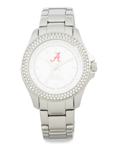 Women's Alabama Crimson Tide Glitz Bezel Bracelet Watch