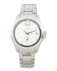 Women's Michigan State Spartans Silver Sport Watch