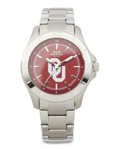 Women's Oklahoma Sooners Sport Bracelet Watch