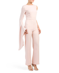 Dramatic One Sleeve Jumpsuit