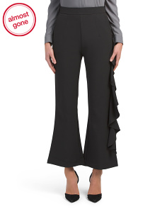 Ruffle Side Culotte Pants
