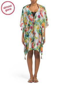 Mixed Printed Cover-up Caftan