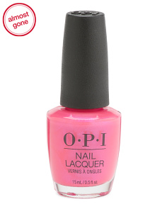 Hotter Than You Pink Nail Lacquer