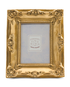 5x7 Ornate Metallic Photo Frame