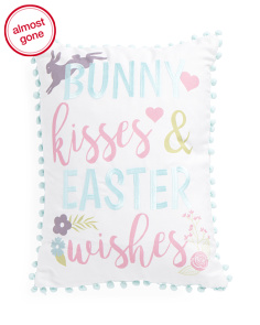 14x18 Easter Wishes Pillow