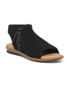 Rikke Suede Sandals