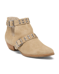 Made In Brazil Suede Ankle Booties