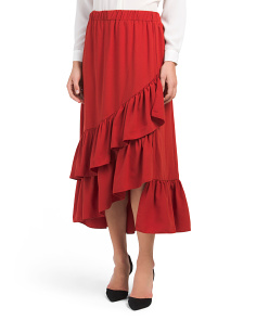 Juniors Ruffle Layer Skirt