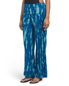 Tie Dye Cover-up Beach Pants