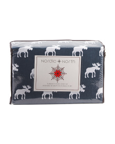 Luxe Moose Turkish Flannel Sheet Set