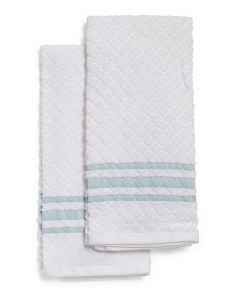 Made In Turkey Set Of 2 Kitchen Towels