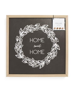 24x24 Home Sweet Home Magnetic Wall Art