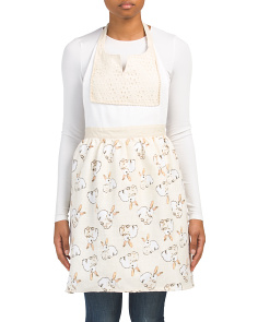 Made In India Bunny Apron