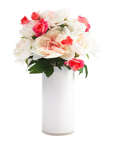 18in Peony Rose Arrangment