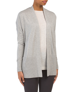Silk Blend Lightweight Cardigan