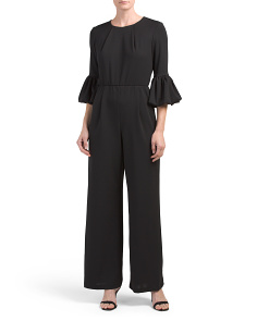 Made In USA Bell Sleeve Jumpsuit