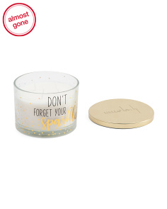 12oz Don't Forget Your Sparkle Candle