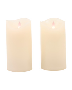 3x6 2pc LED Candle Set