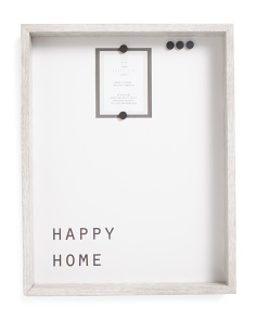 14x18 Happy Home Magnetic Board