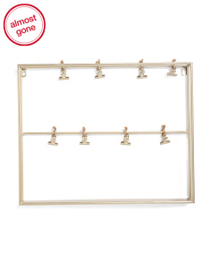 16x20 Iron Hanging Clip Photo Display
