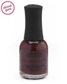 Bus Stop Crimson Nail Polish